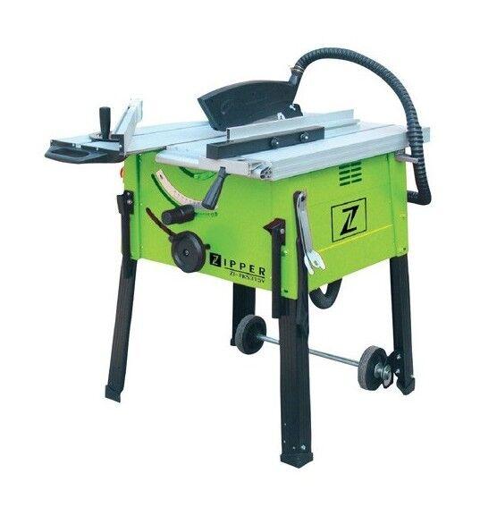 ZIPPER Scie sur table D.315 mm électrique 2000 W avec chariot ZI-FKS315 - Zipper - -