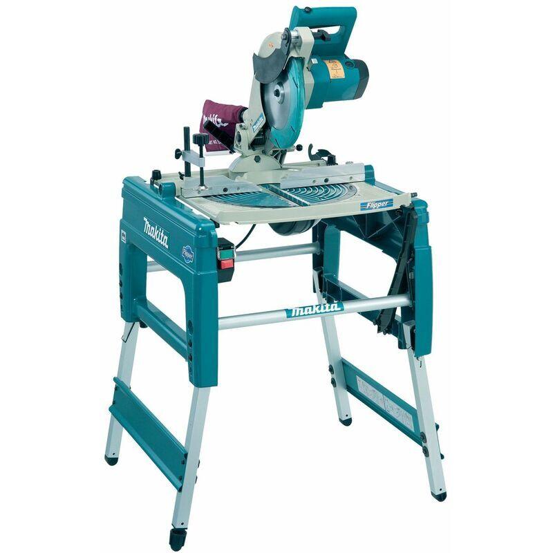 Makita LF1000 Scie sur table et à coupe d'onglet réversible - 1650W - 260mm x