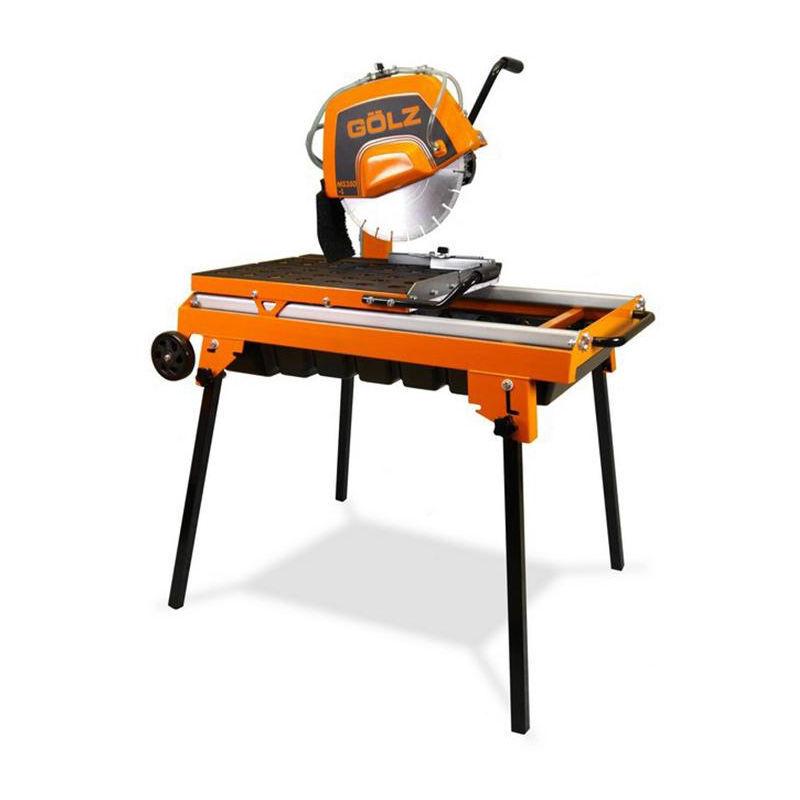 GOLZ Scie sur table GÔLZ robuste - 2200 W Ø350 mm - 02893502000