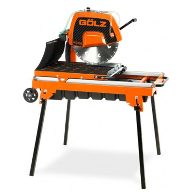 GOLZ Scie sur table GÔLZ robuste MS400 - 2200 W Ø400 mm - 02894001000