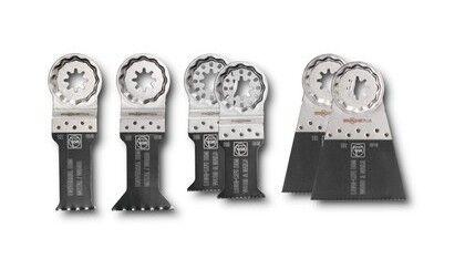 FEIN Coffret Best of Lame de scie E-Cut bois/métal Starlock Plus 35222942050 - Fein