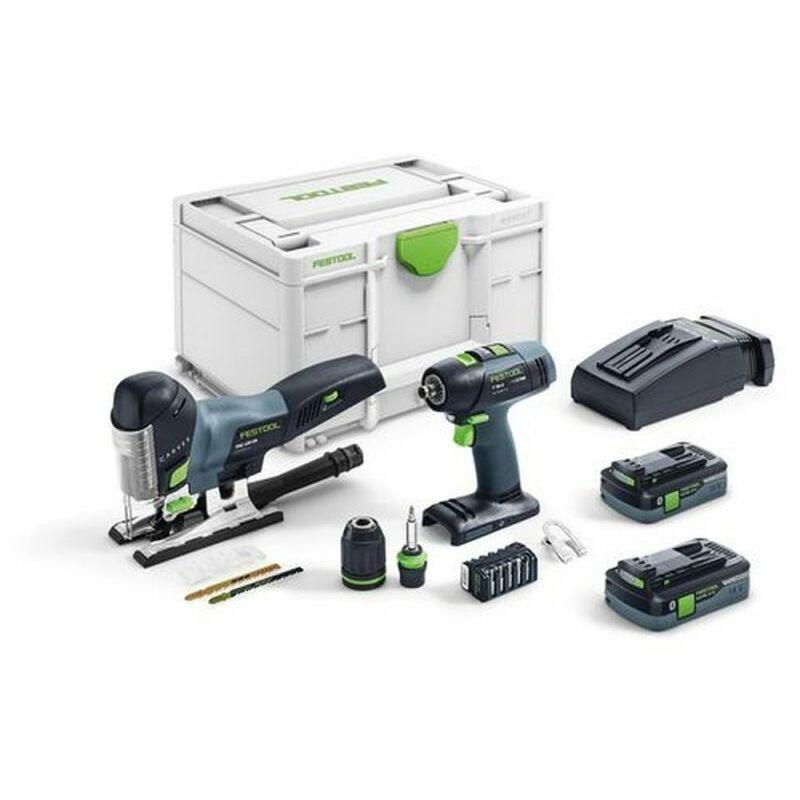Festool Set de montage sans fil T 18+3/PSC 420 I-Set