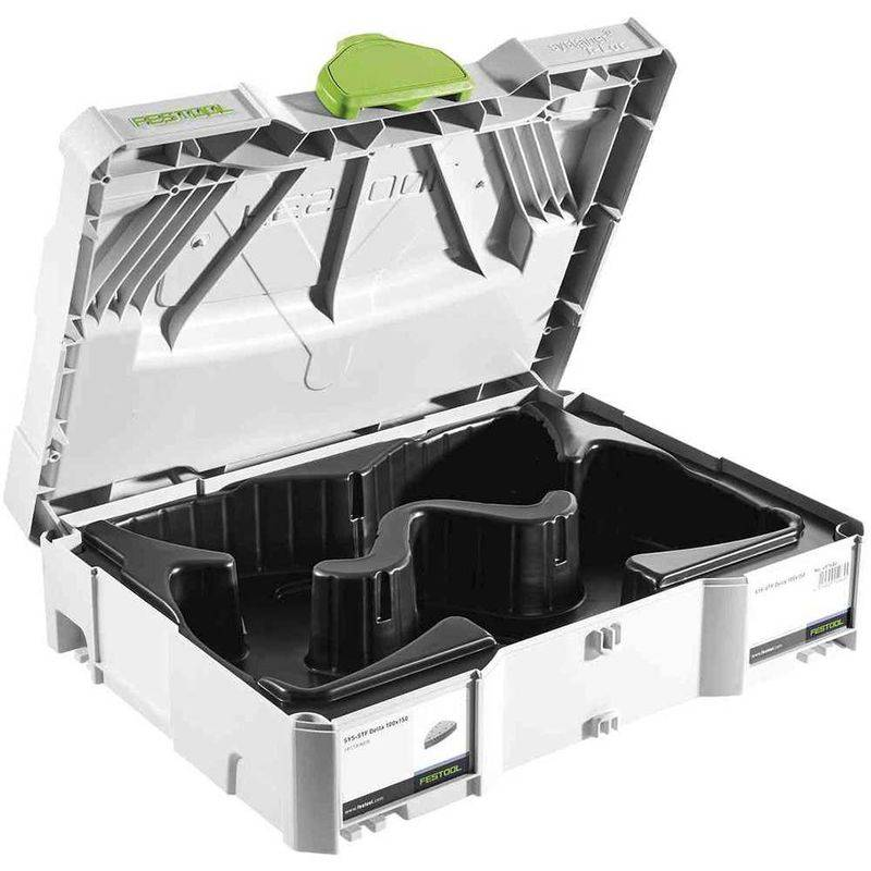 FESTOOL Coffret avec calage pour abrasifs FESTOOL Systainer T-LOC SYS-STF Delta 100x150
