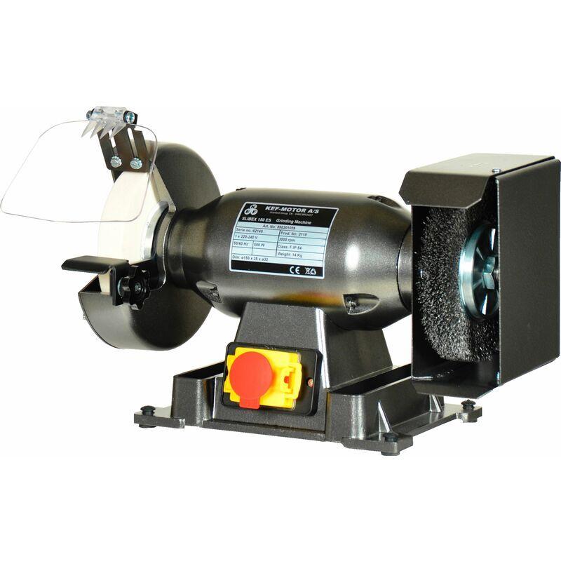 KEF Touret à meuler avec brosse Ø200mm 230V 50Hz KEF Slibex