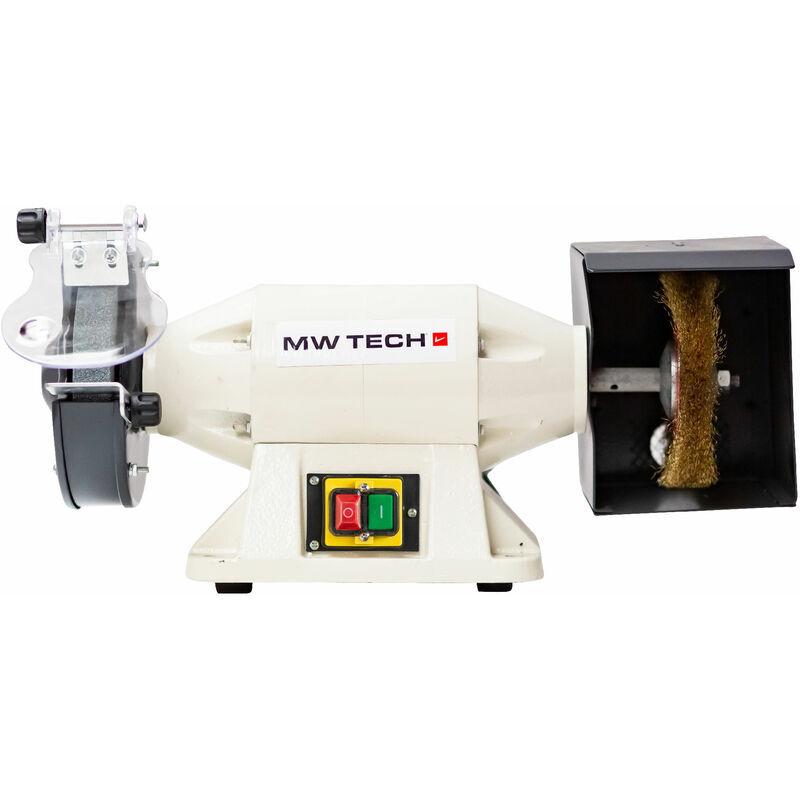 MW-TOOLS Touret à meuler avec brosse 230V Ø150 MW-Tools ME15W 230V