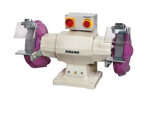 SIDAMO Touret à meuler 128 D. 250 mm - 400V 1500W - 20113006 - Sidamo - -