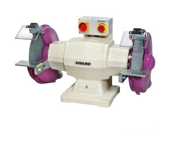SIDAMO Touret à meuler 130 D. 300 mm - 400V 2200W - 20113008 - - Sidamo