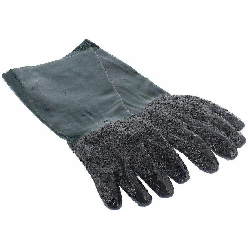 Varan Motors - NESBGS-01 2 Gants de protection pour cabine de sablage, gants