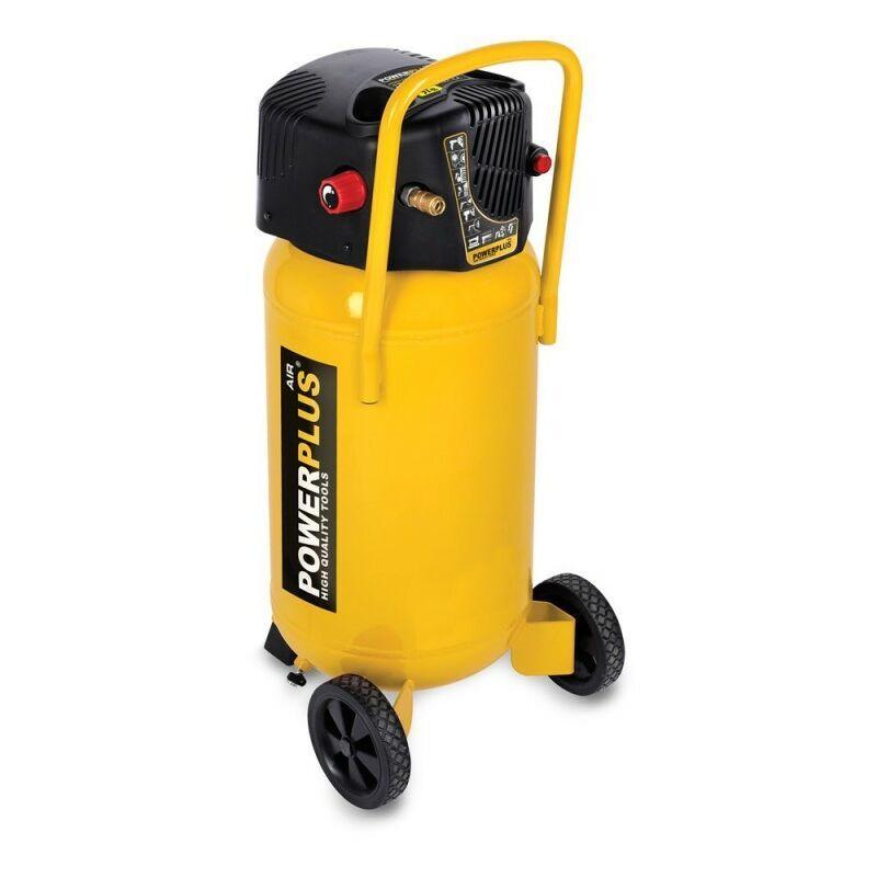 POWERPLUS Compresseur 1500W 50 Litres non lubrifié
