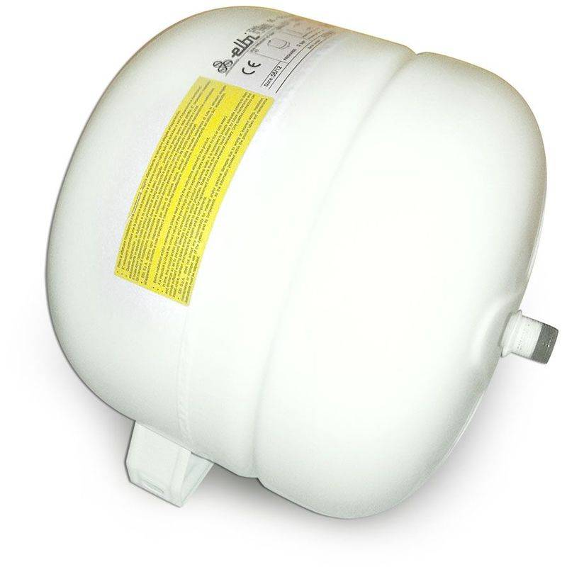 Elbi - Vase d'expansion solaire à membrane fixe de 35 litres pour installations