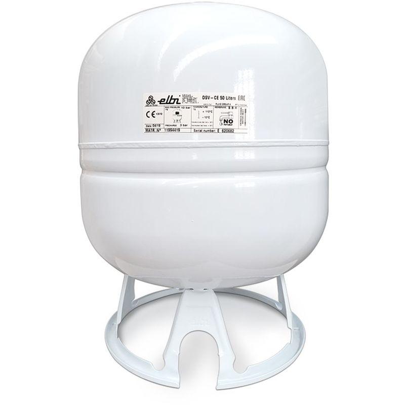 Elbi - Vase d'expansion solaire à membrane fixe de 50 litres pour installations