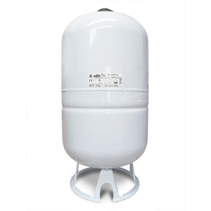 Elbi - Vase d'expansion solaire à membrane fixe de 80 litres pour installations