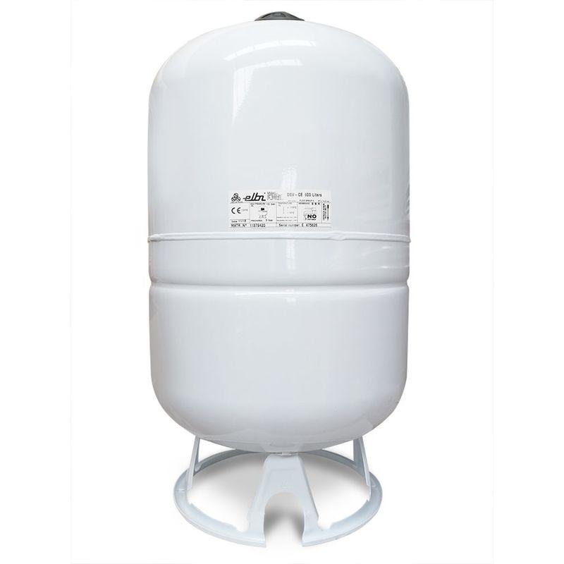 ELBI Vase d'expansion solaire à membrane fixe de 100 litres pour installations