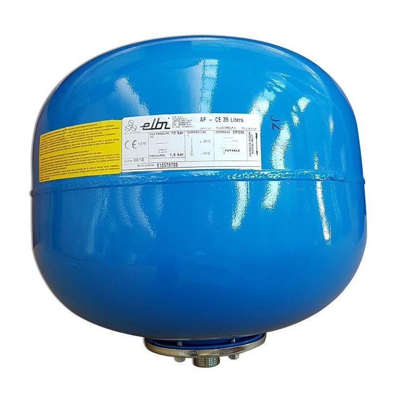 ENERGY DUEGI Vase d'expansion à membrane interchangeable de 35 litres pour l'eau sanitaire