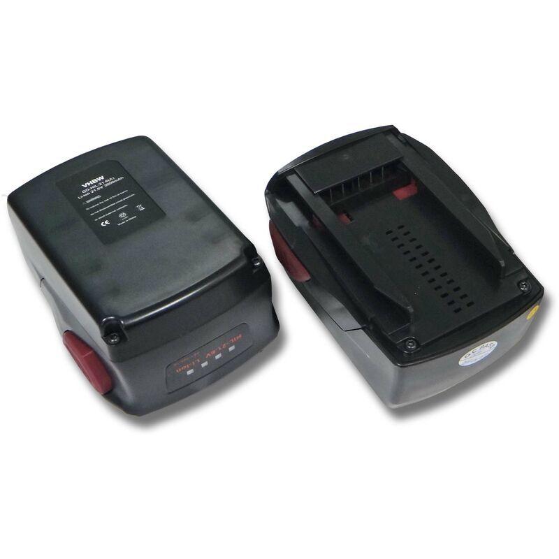 VHBW 2x Batteries Li-Ion 3000mAh (21.6V) pour outils SIW 22-A, SIW 22T-A, TE 2-A22,