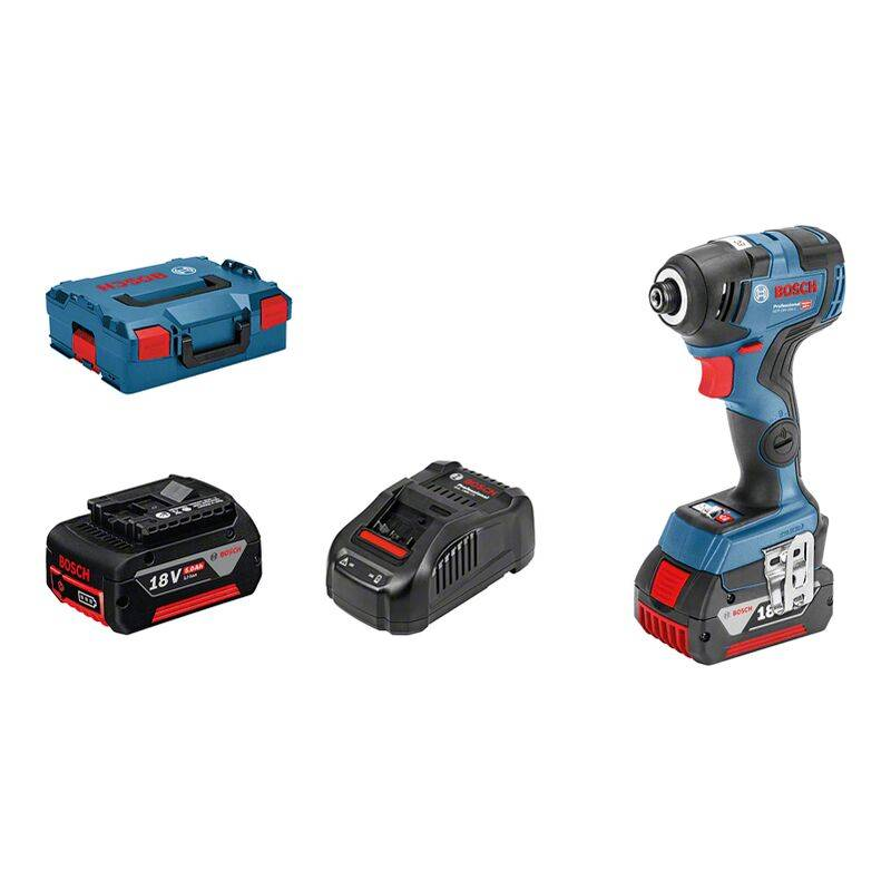 Bosch pro Visseuse a chocs sans fil GDR 18V 200 C 2 batteries 5,0 Ah 200 Nm,