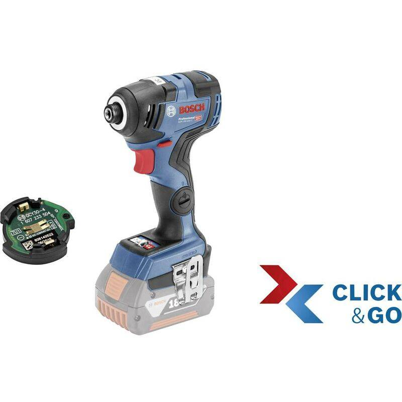 BOSCH Visseuse à chocs sans fil Bosch Professional GDR 18 V-200 C solo C & G L-B