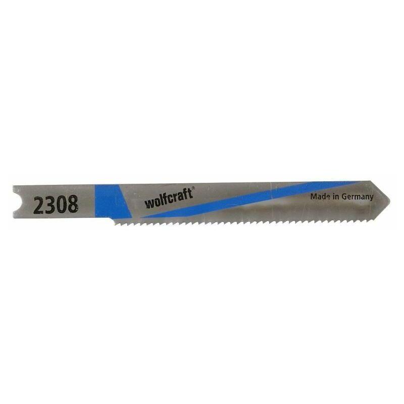 Wolfcraft - 2 lames de scie sauteuse (2308000)