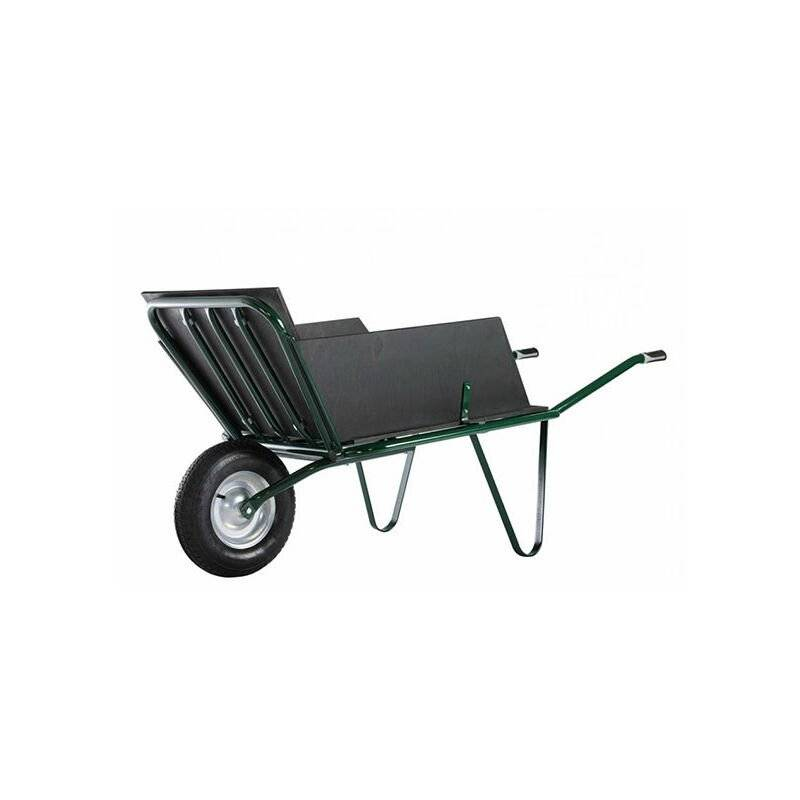BROUETTE DIRECT - MATISERE Brouette agricole 1 roue + plateau