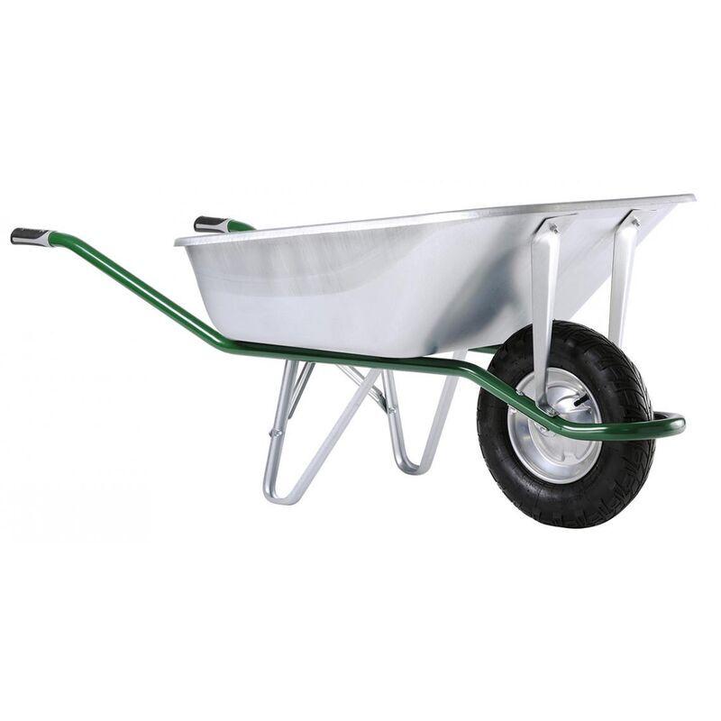Dewalt - Brouette Expert 160L galva roue gonflée