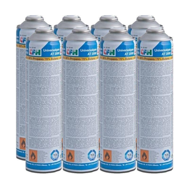 CFH Pack maxi 24 x cartouches de gaz universel sous pression 330 g