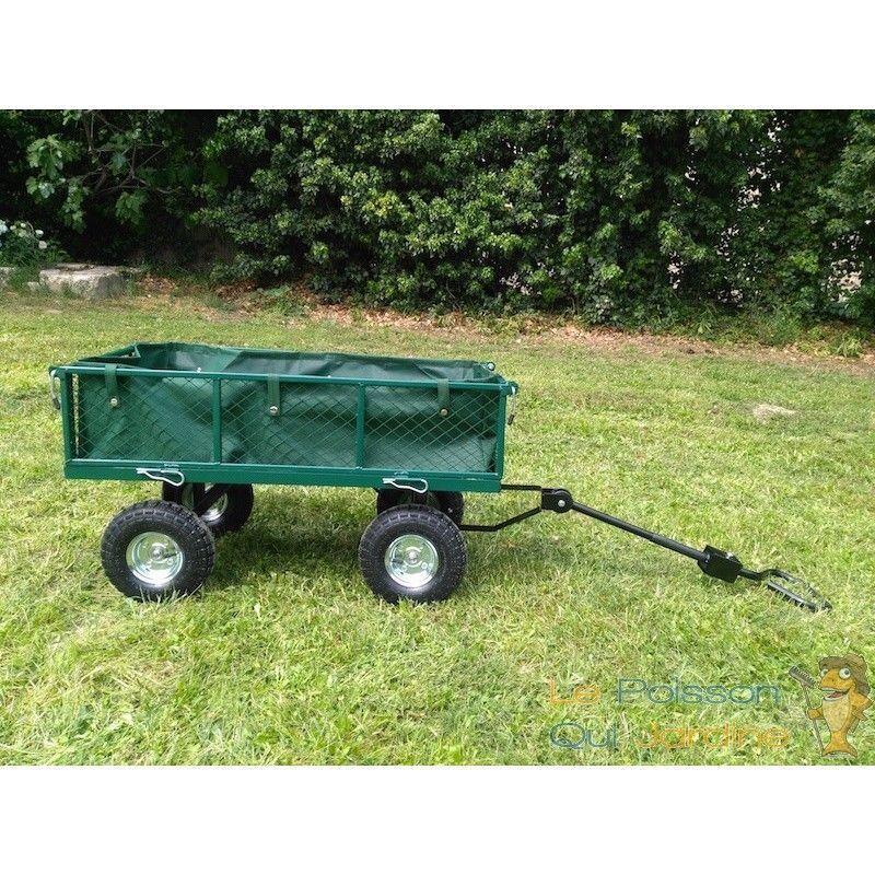 LE POISSON QUI JARDINE Chariot à main pour le jardin ou autres transports 300 kg