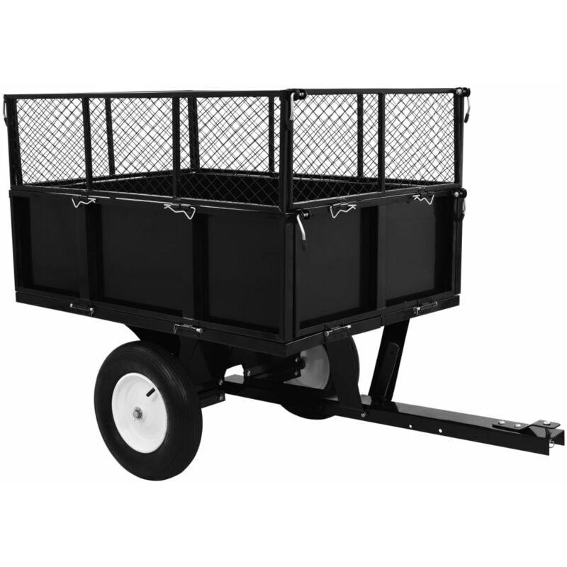 ASUPERMALL Chariot de jardin Charge de 300 kg