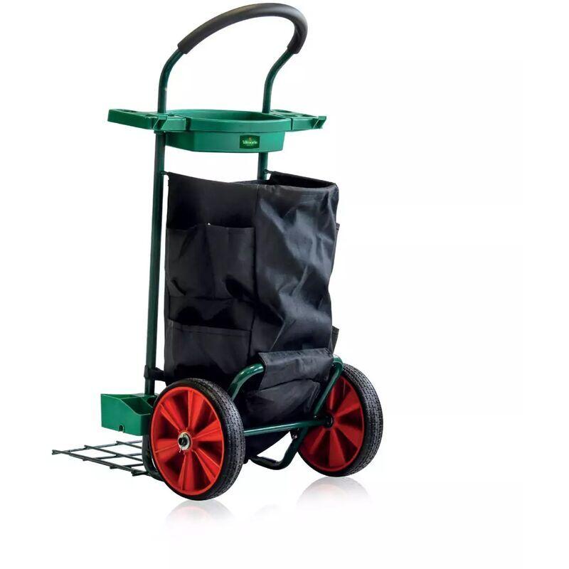 Vilmorin - Chariot de jardin multifonction