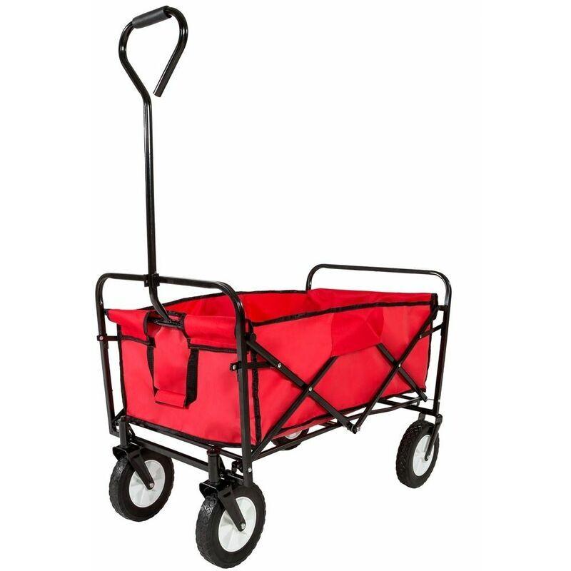 Varan Motors - TC0102 Chariot de transport à main pliable, 89 x 54 x 55cm,