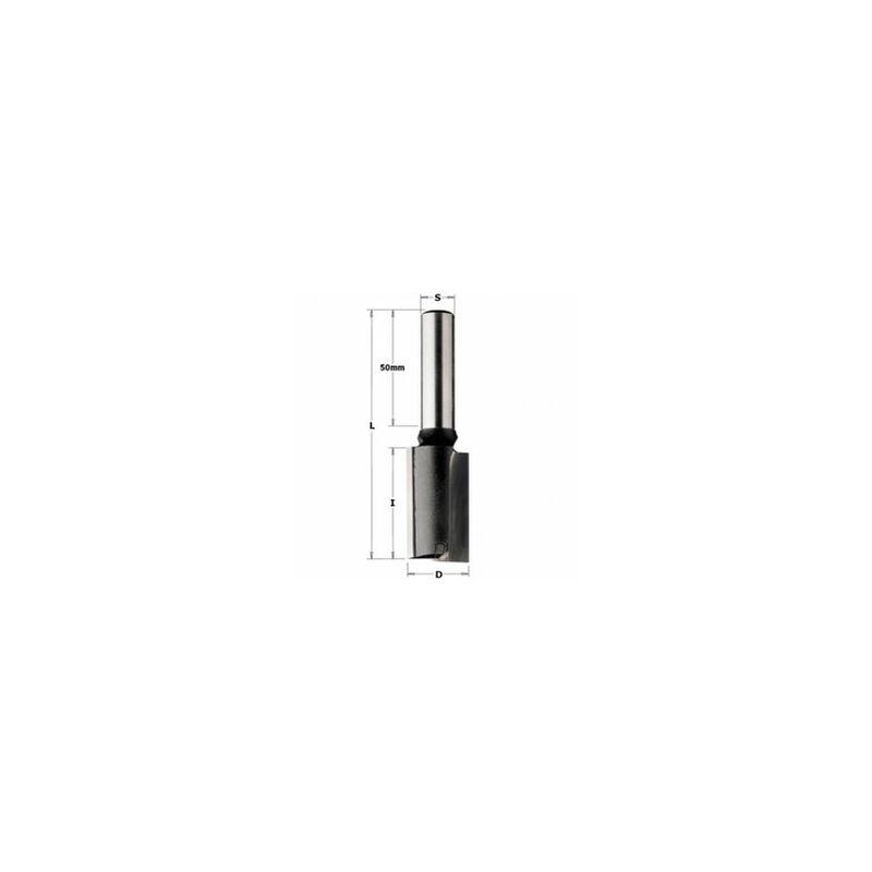 CMT : Fraise carbure industrielle 16 mm longue Queue 12 mm