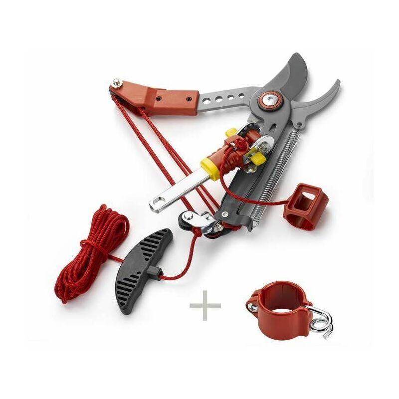 OUTILS WOLF Echenilloir orientable, coupe franche 36 mm diam. de coupe + guide corde