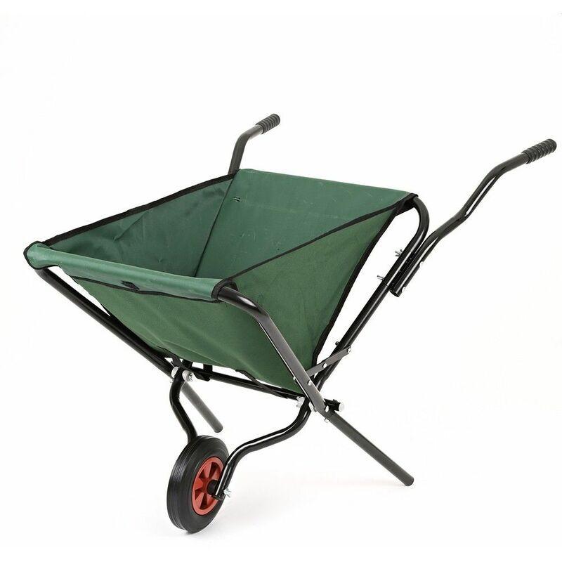 Trueshopping - Jardin Roue pliante Barrow Lightweight Trolley Wheelbarrow