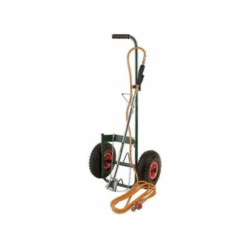Ribimex - kit desherbeur thermique avec chariot roues gonflables - proxkit1