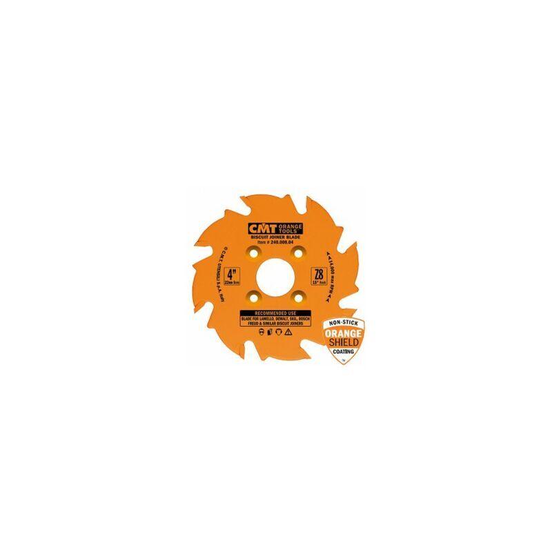 CMT Lame carbure 100 mm CMT pour fraiseuse à lamelles / lamello 8 dents