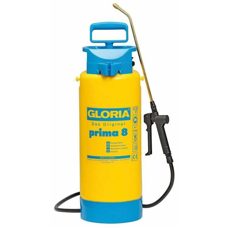 GLORIA Pulvérisateur à pression Prima 8 - 8L