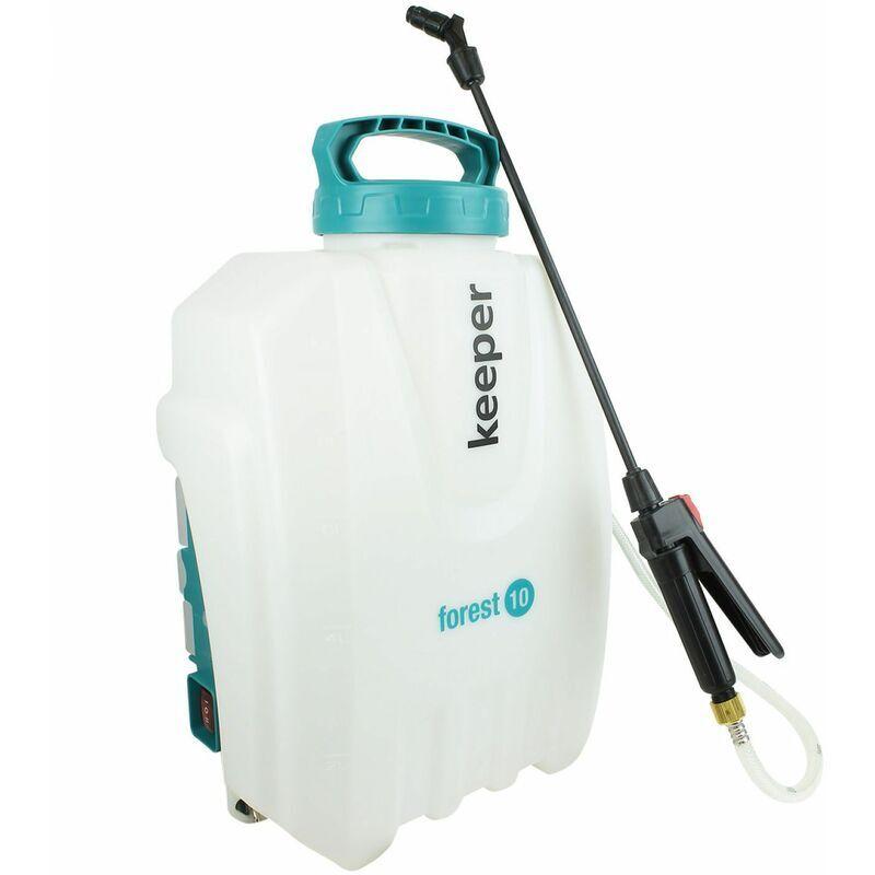 KEEPER Pulvérisateur électrique avec batterie au lithium - 10 L - Keeper