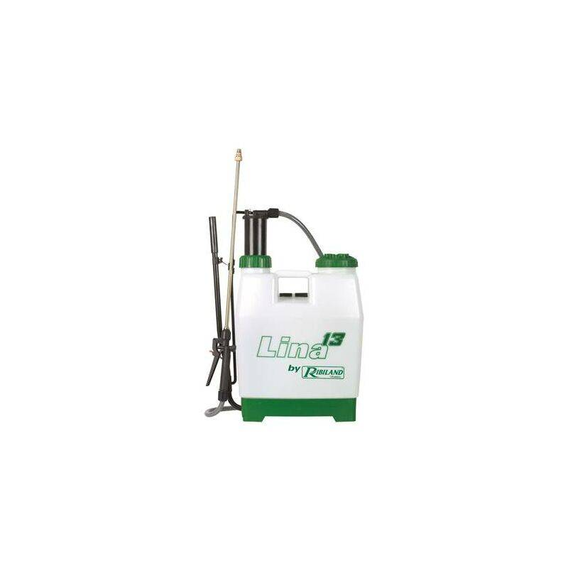 Ribimex - Pulvérisateur pro à pression préalable 14L - lance laiton et buse