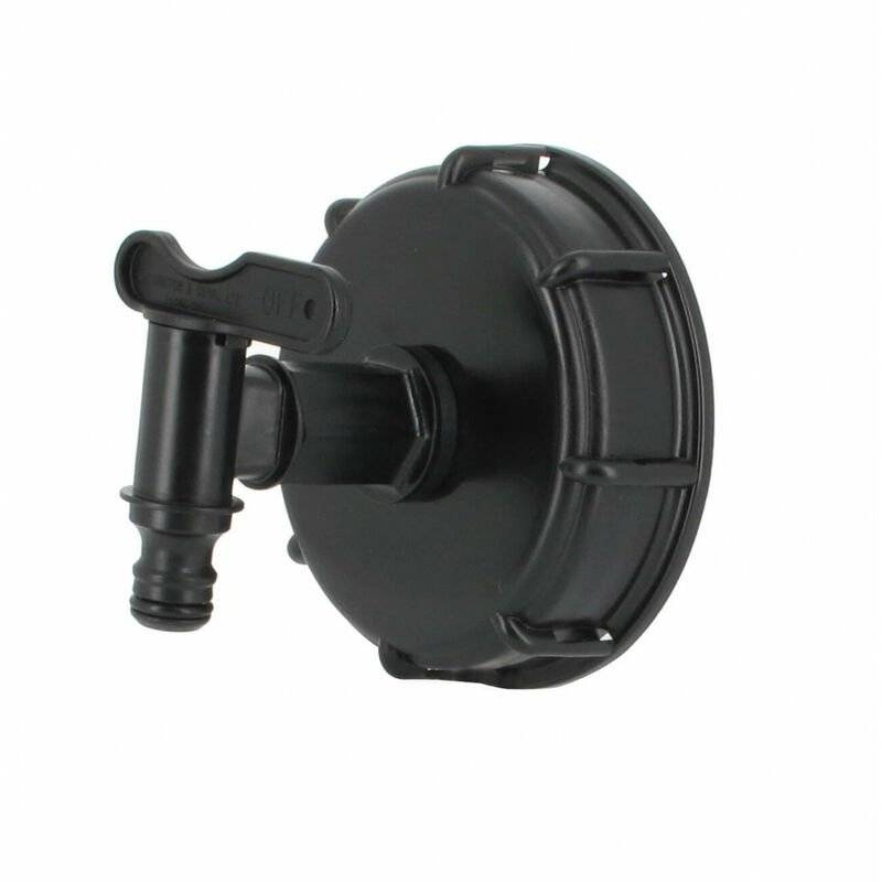 Multicuves - Raccord S100X8 cuve eau - 1 robinet avec nez (type Gardena)
