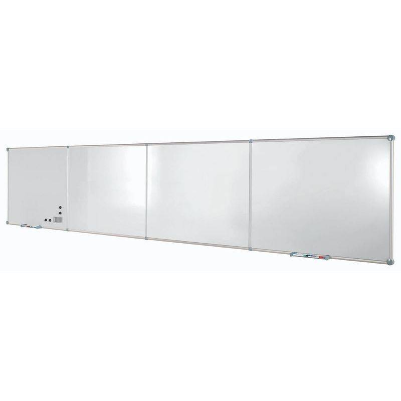 Maul - Tableau extensible - tôle d'acier plastifiée, format horizontal - module