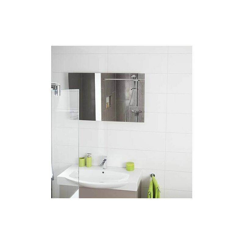 EVENES Chauffage mural infrarouge miroir - épaisseur 6 mm 620 x 1200 x 50 mm - 800W