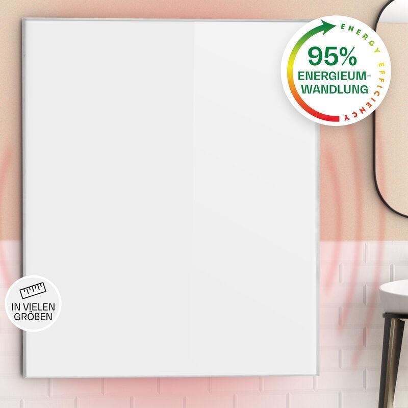 klarstein Wonderwall 120 radiateur infrarouge 120 x 100 cm 1200 W minuterie