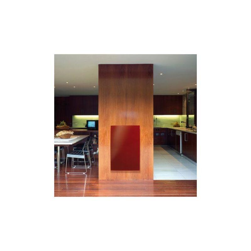 SUD RAYONNEMENT Ecosun Glass Rouge 900w - (dim:1200x800x12)