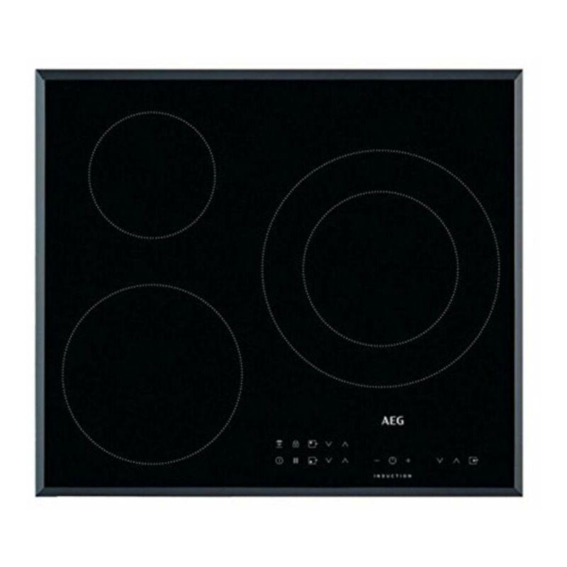 AEG Plaque à Induction IKB63302FB 60 cm Noir (3 zones de cuisson) - AEG