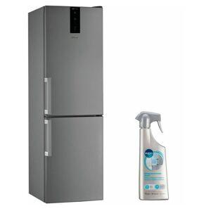WHIRLPOOL Réfrigérateur frigo Combiné Inox 338L Froid ventilé No frost 6eme - Publicité