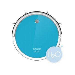 AMIBOT Robot aspirateur et laveur AMIBOT Spirit H2O - Blue - Publicité