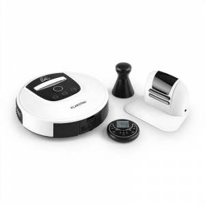 Klarstein Cleanhero Robot aspirateur Automatique Télécommande blanc - Publicité