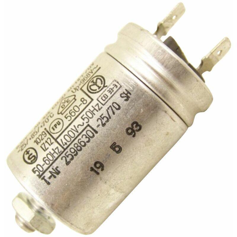 Whirlpool - Condensateur 3µF (320960-48147) (481912118102) Lave-vaisselle