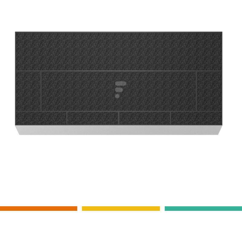 FAC FC26 - filtre à charbon pour hotte aspirante 00706593 - Fac