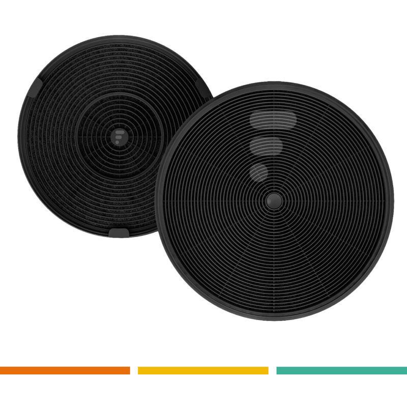 AEG FC03 - Filtre à charbon compatible hotte Aeg DVB5960HB - 2 pièces