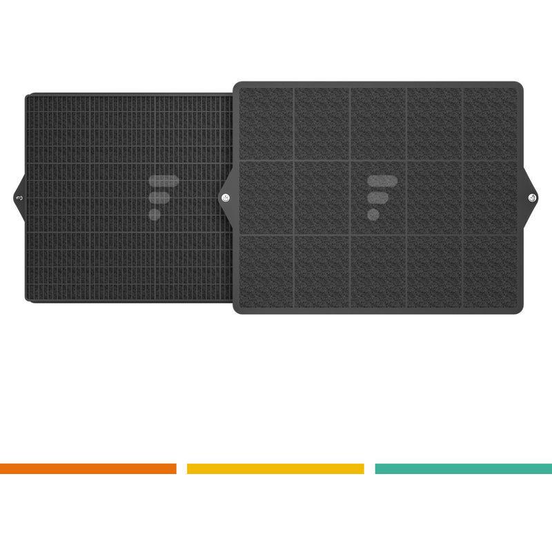 ELECTROLUX Filtres pour Electrolux Four Hotte Extracteur d'air grille d'aération (Lot de 2)